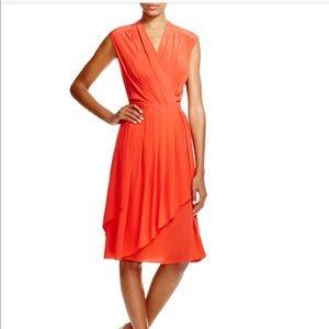 Tory Burch Red Silk Dress